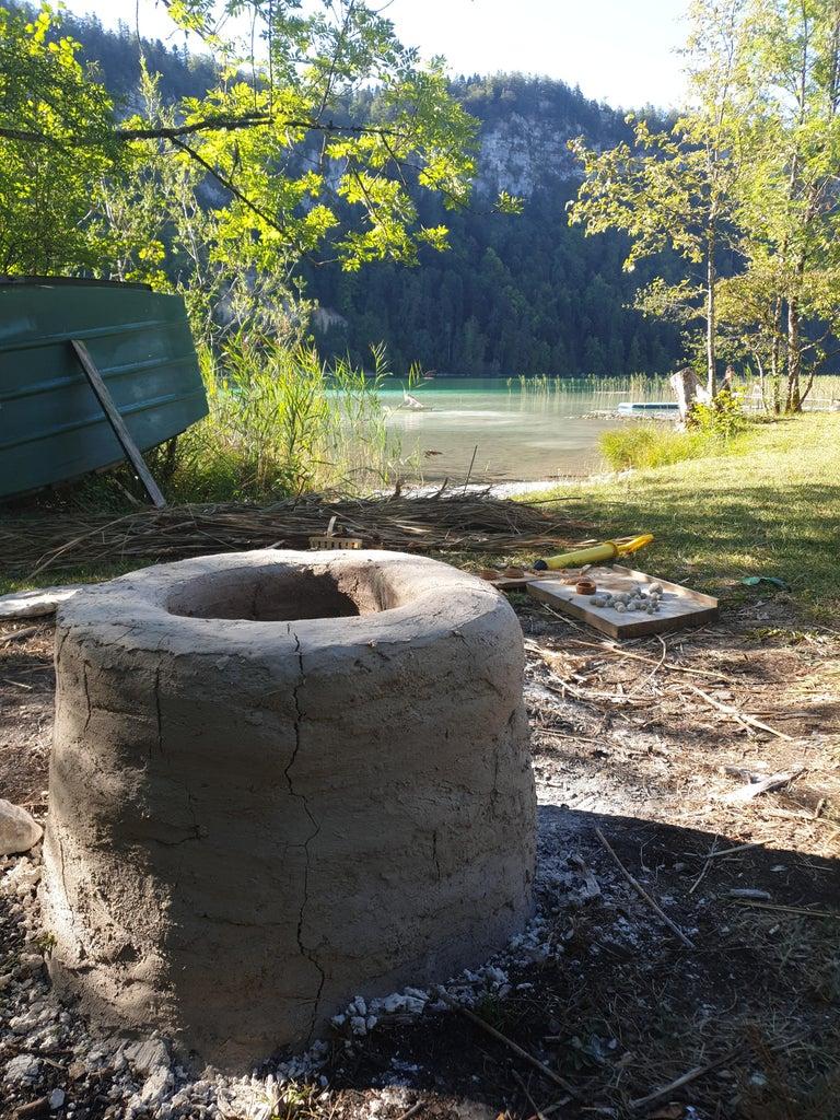 Primitive Pottery Wood Firing Updraft Kiln