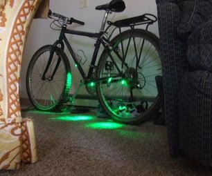 Bicycle Ziptie LED