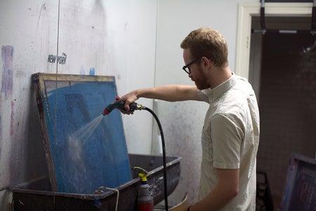 Step 5: Wash Out Emulsion