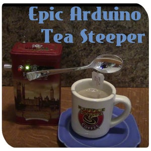 Epic Arduino Tea Steeper