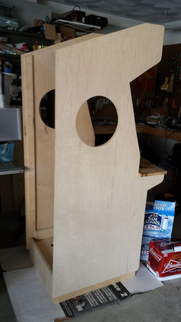 Mount the Side Panels to the Base