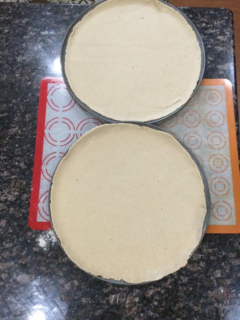 Pizza: Flatten the Dough