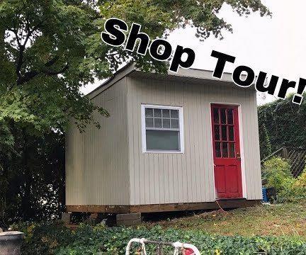 $1000 Backyard Workshop Shed