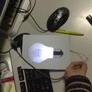 "Carboard LED ""Bulb"""