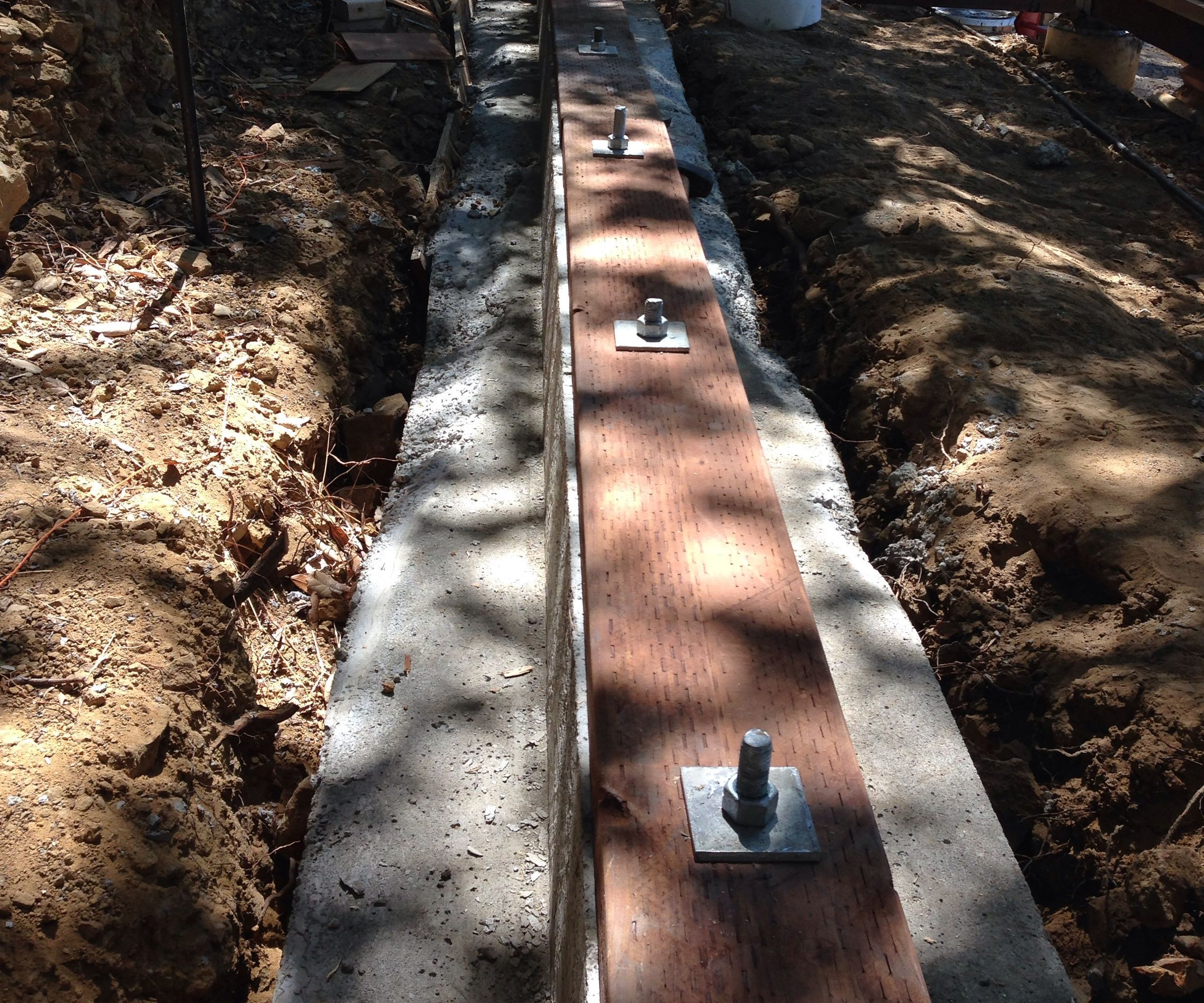 Trick for Attaching Sill Plates To Concrete Footings