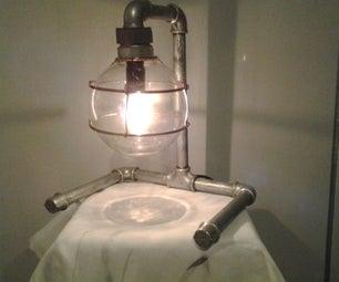 Pipe-lamp