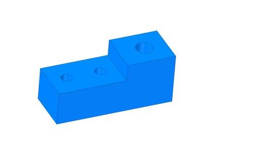 Cut the Teflon Blocks