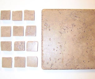 """How to Make Beautiful """"tumbled"""" Mosaic Tiles Inexpensively..."""