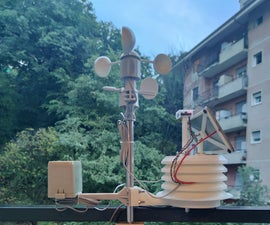 Particle Photon IoT Personal Weather Station