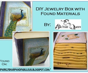 DIY Jewelry Box With Found Materials