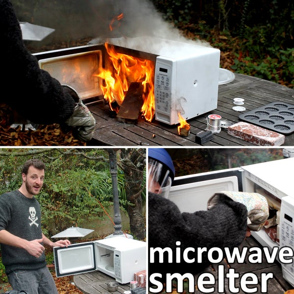 Microwave Smelter