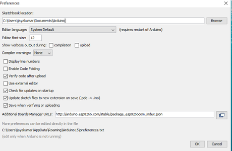 Uploading Code-