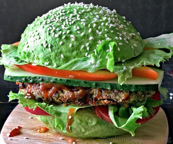 Vegan Avocado Burger