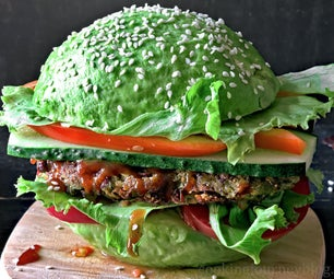 Vegan Avocado Burger