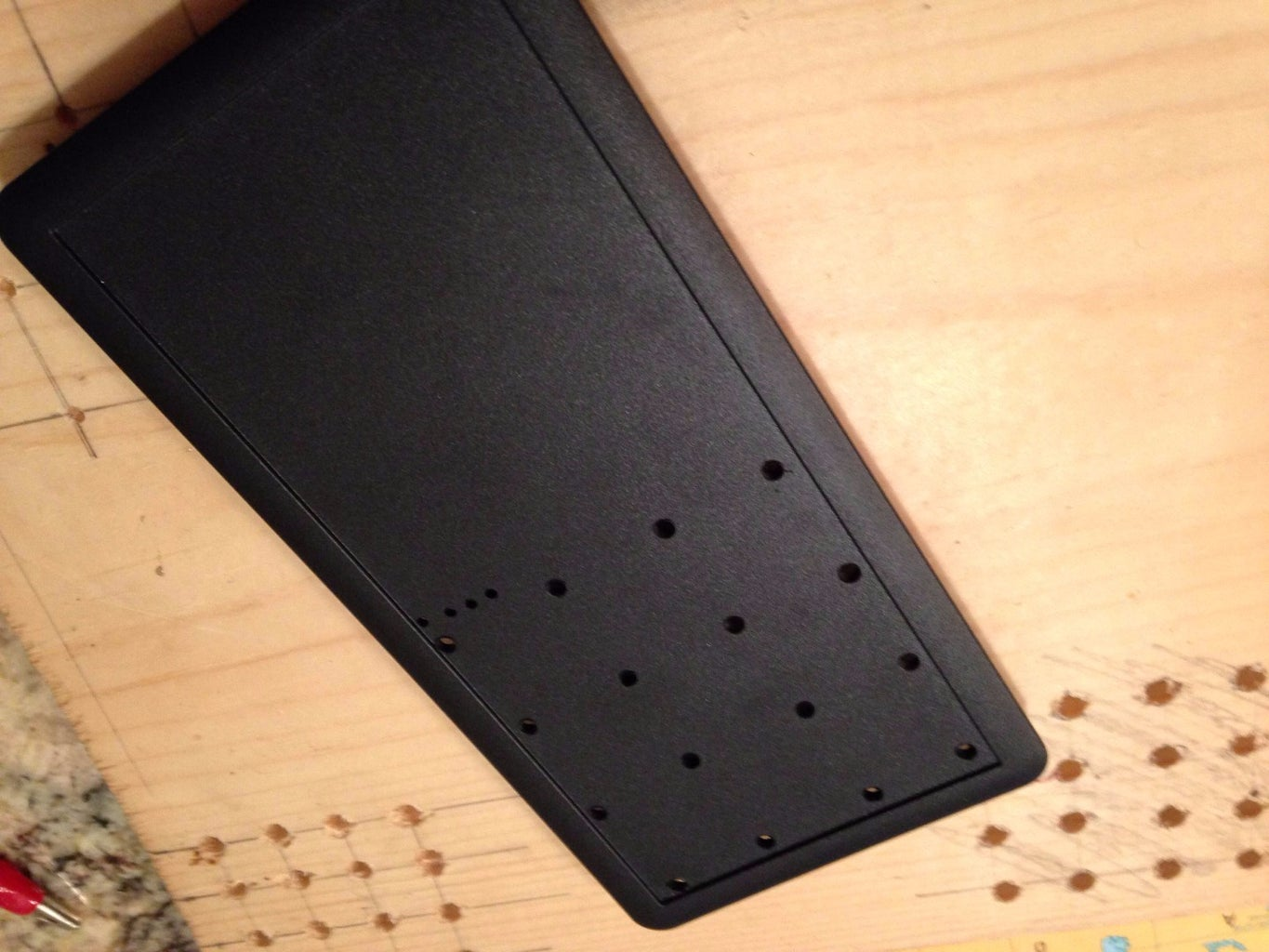 Drill a Bunch of Holes in a Metal and Plastic Box