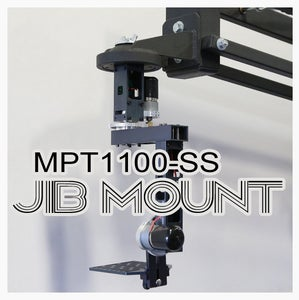 MPT1100-SS Pan and Tilt - How to Mount to a Jib Crane