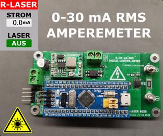 Digital RMS Amperemeter for Laser Cutters