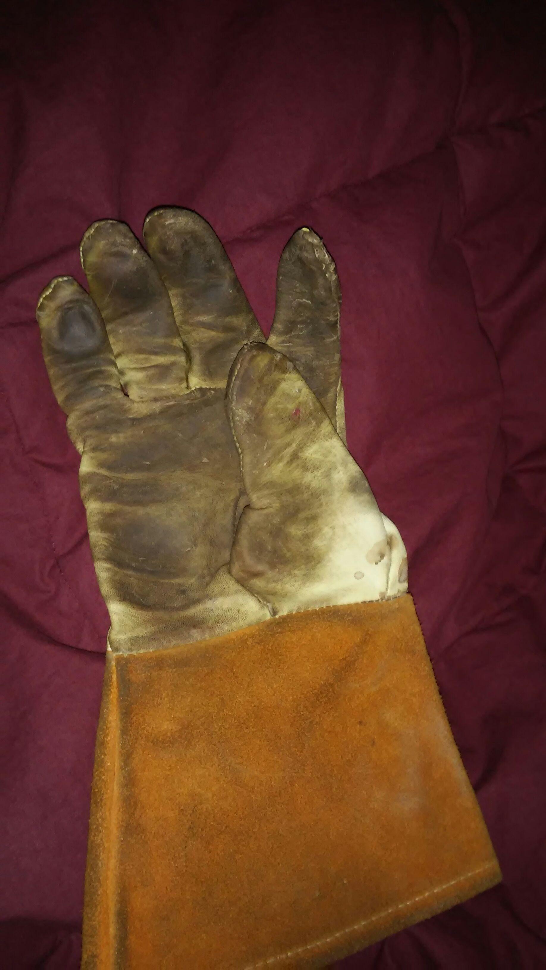 Welding Gloves That Live Forever