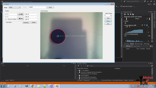GUI and Image Processing: