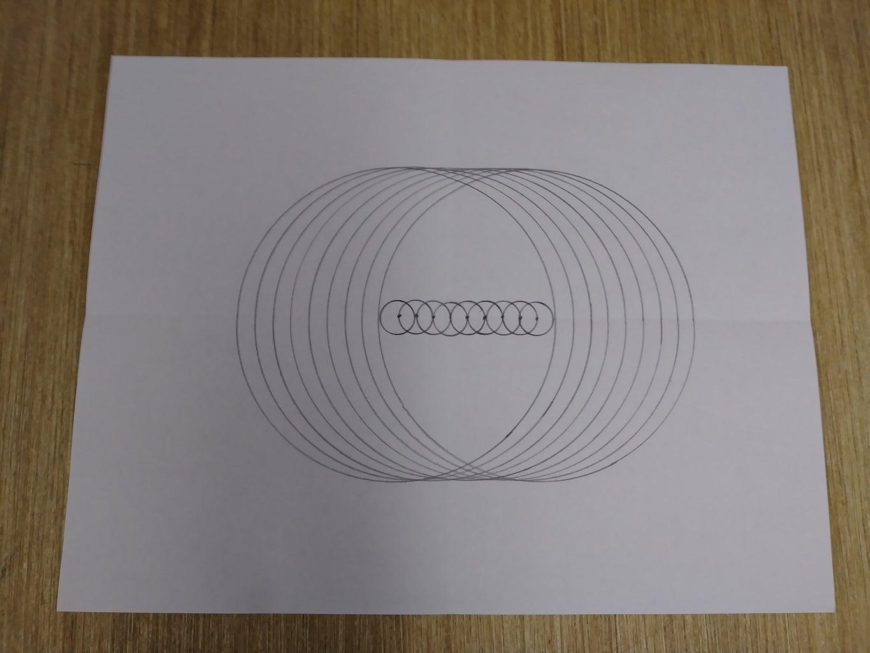Sample Disc-O-Math Circle Artwork