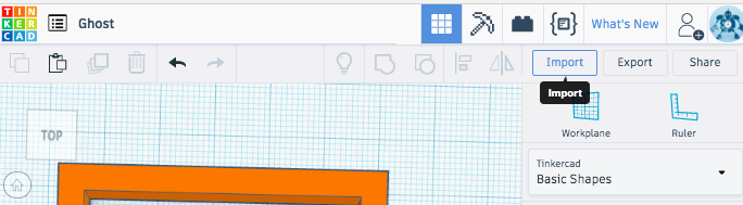 .svg to Tinkercad