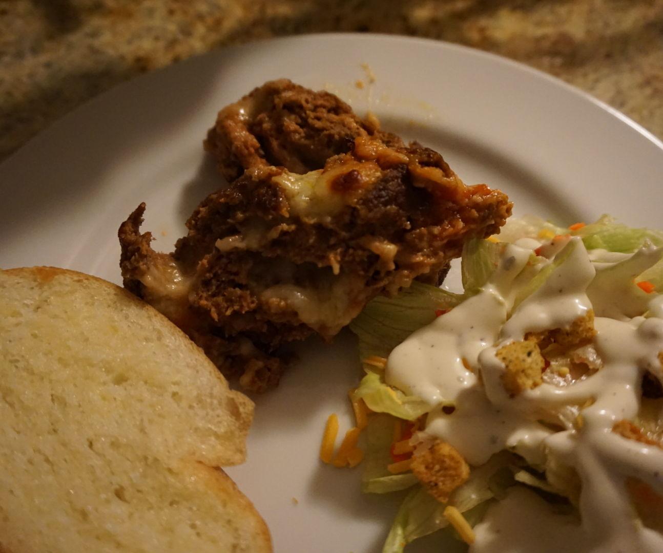 Mozzarella Meatloaf