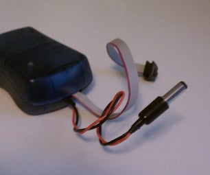 Add Power Supply Plug to AVRISP MkII