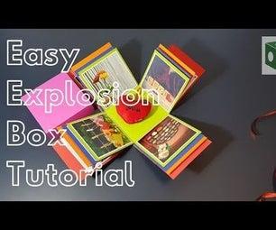 Easy Exploding Gift Box Tutorial