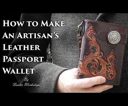 Artisan's Leather Passport Wallet Tutorial