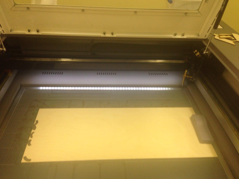 Setup Laser Job and Cut