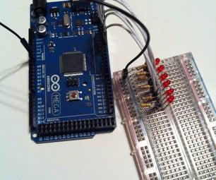 6 LED Pendulum With Arduino