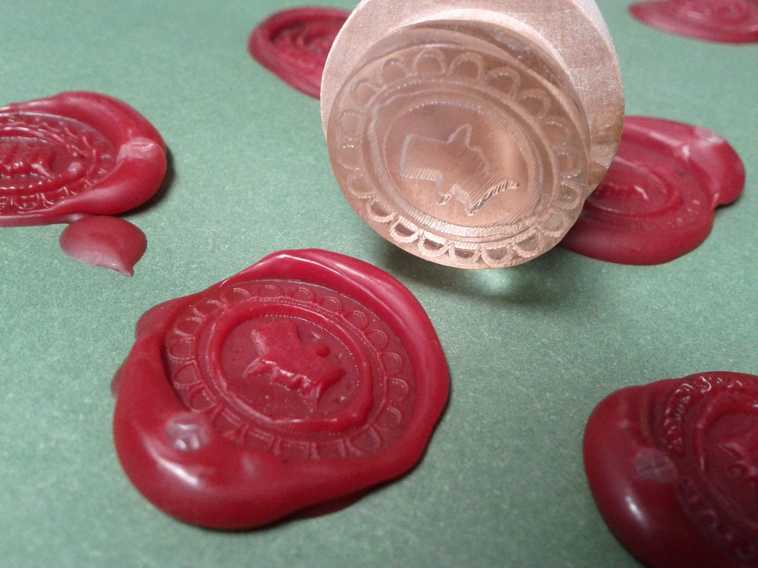 Wax Seals From a Laser Cutter