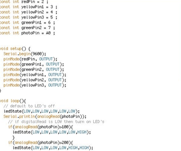 編寫ArduBlock與程式碼