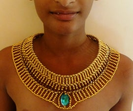 Egyptian Jewelry: How to Make the Prince's Necklace