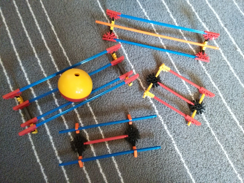 More Micro Madness!   K'nex Ball Machine Paths