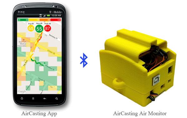 AirCasting Air Monitor