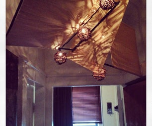 Placemat Chandelier