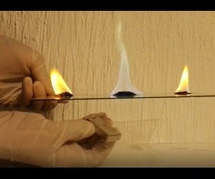 Control Color of Flame Using  a Magnet