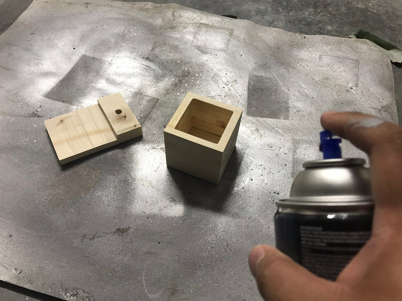 Making the Planter Tray