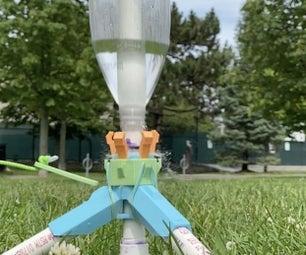 3D Printed Bottle Rocket Launcher (OLD BETA VERSION)