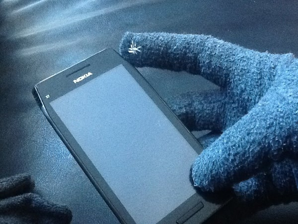 3 Minute Touchscreen Gloves!