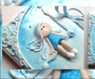 Polymer Clay Journal Cover