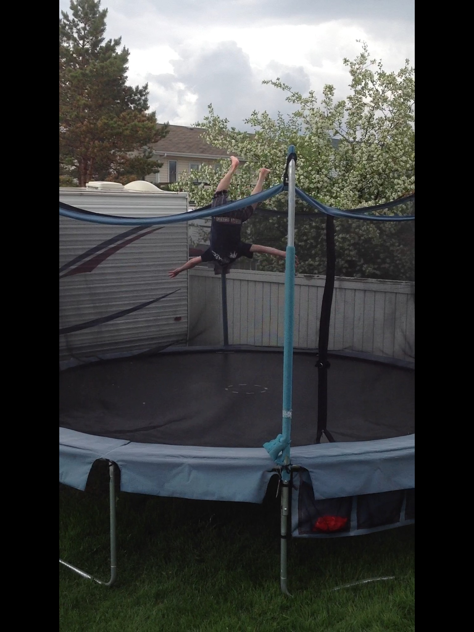 How To Backflip On A Tramp
