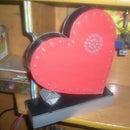 Heart by LED (LED TRÁI TIM ĐƠN)(8051 VN)