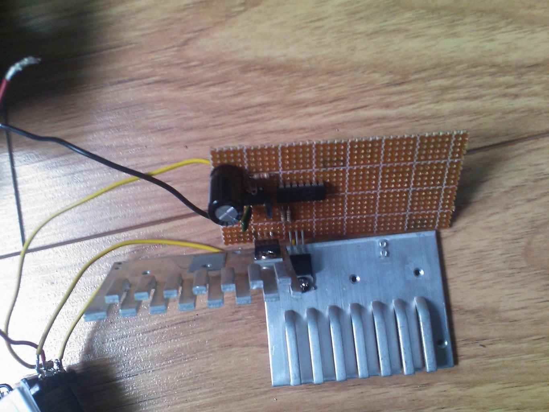The Built Inverter for 250W