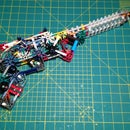 K'nex Whisper Pistol [Semi-auto, Unique Mech, 6 Shots]