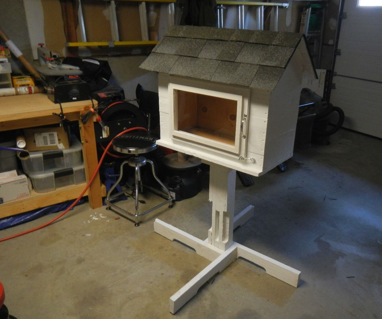 Little Free Library From Pallet Wood