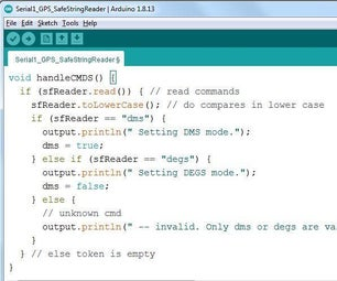 Arduino Text I/O for Real World Applications