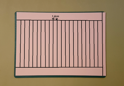 Draw Out the Lines (Go to the STEP 2 If You Have the Template)