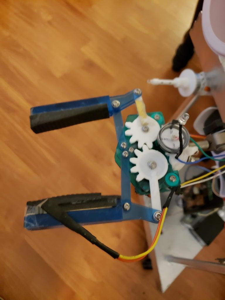 Gripper Arm and Sensor